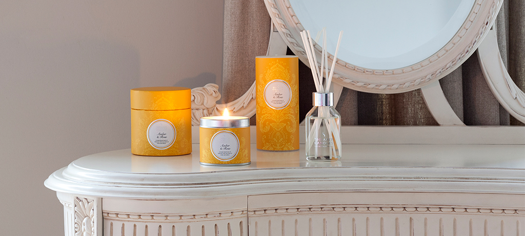 A Selection of Mother's Day gifts from Shearer Candles including diffusers, candles and home fragrances