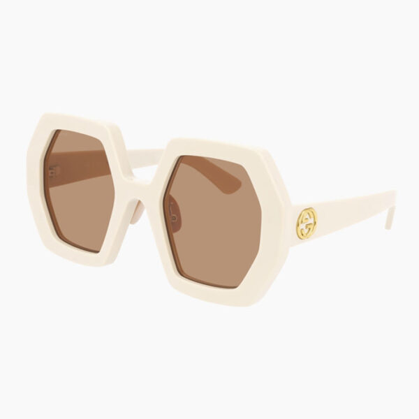 Gucci-Octagonal-Sunglasses-Angle-View