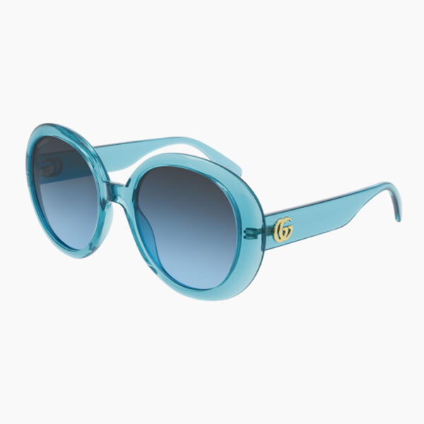 Gucci-Oversized-Full-Rim-Sunglasses-Blue-Angle-View